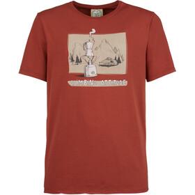 E9 Caffè Maglietta Uomo, rosso